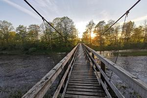 Jõesuu suspension bridge