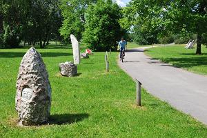 Skulpturalléen I Pärnus strandpark