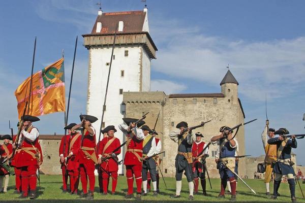 Narva Linnuses lahing