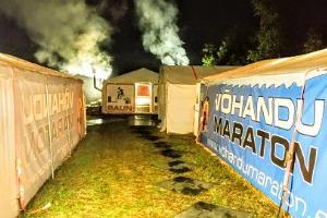 Maailma suurim mobiilne telksaun Võhandu maratonil