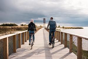 Avasta Pärnut jalgratastel koos giidiga