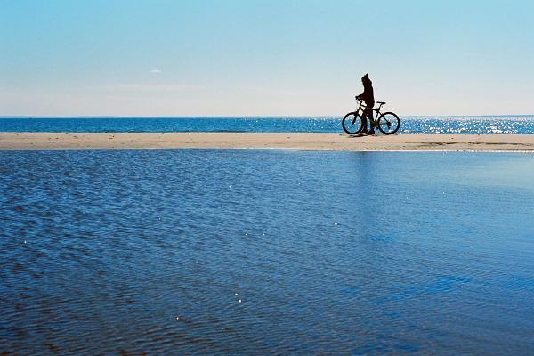 Ööbimine rannamajas ja jalgrattalaenutus Prangli saarel