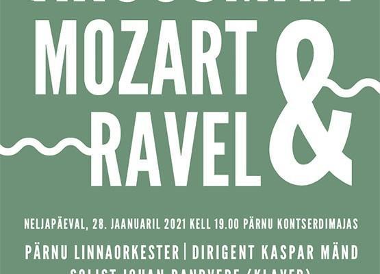 """Kontsert """"Kruusmaa, Mozart & Ravel"""""""