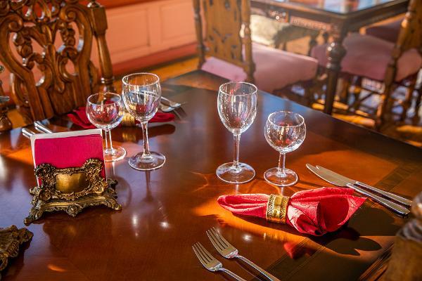 Restaurant im Schloss Cantervilla