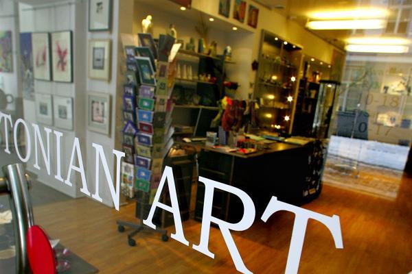 Eesti tarbekunsti galerii Kunstiaken/Estonian art and design gallery