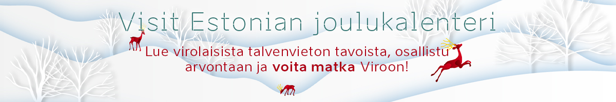 Visit Estonia joulukalenteri 2020 bannerilinkki