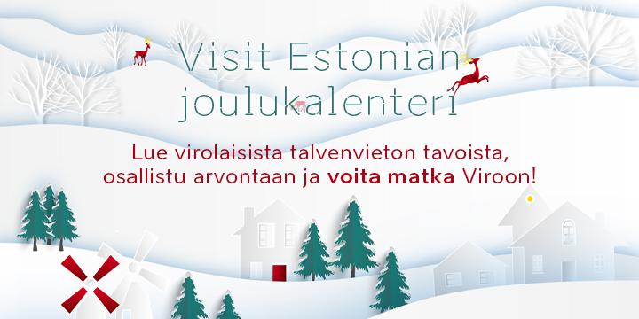 Visit Estonia joulukalenteri 2020 bannerilinkki