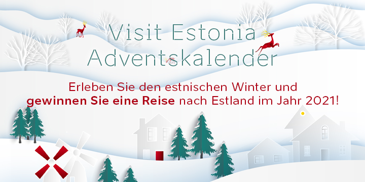 Visit Estonia Adventkalender 2020 Banner