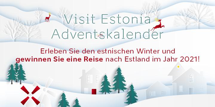 Visit Estonia Adventkalender 2020 Banner