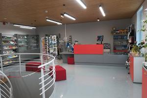 Otepää Turistinformationscenter inifrån