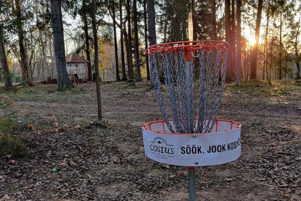 Cosius Pubi disc-golf