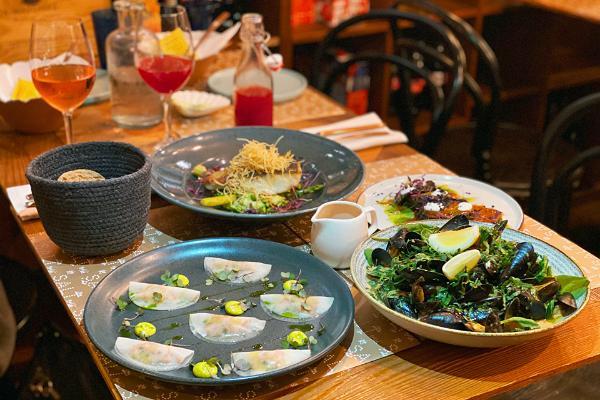 Elamusõhtusöök koos ühiskokkamisega restoranis Salt