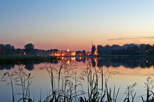 Evening view to Valga