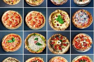 Breite Auswahl an italienischen Pizzen