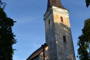 Die Kirche in Lääne-Nigula