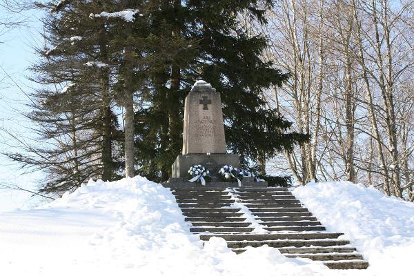 Minnesmärke till fallna i det estniska frihetskriget