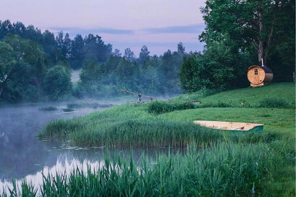 Canoe trips on Soomaa rivers