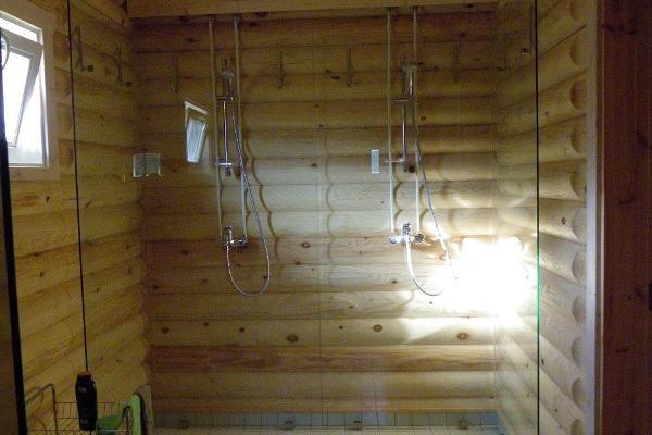 Sauna washroom