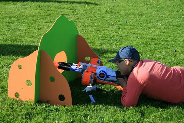 Educational Nerf games