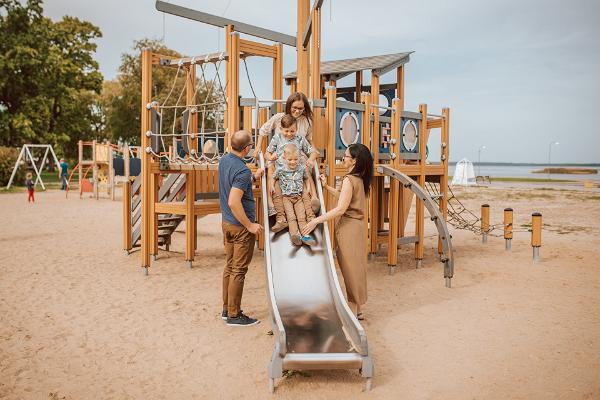 Aafrika beach playground