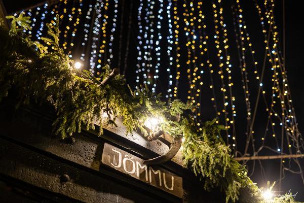 Lotja Jõmmu jouluvaloissa