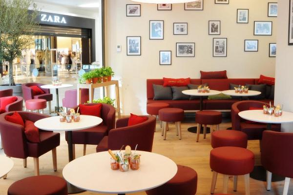 Restaurang Vapiano Tartu lounge