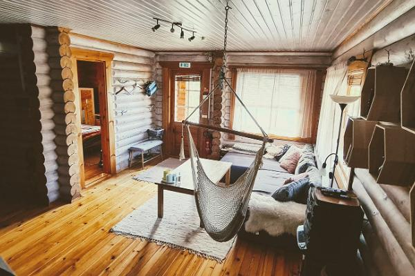 Lombi Holiday House, cosy living room
