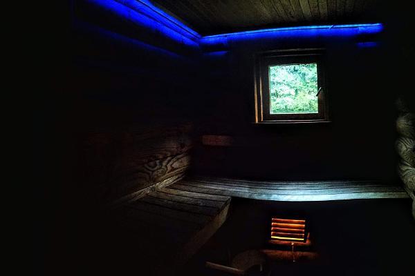 Lombi Holiday House, sauna