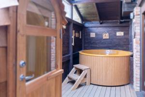 Hot tub and Hansatall