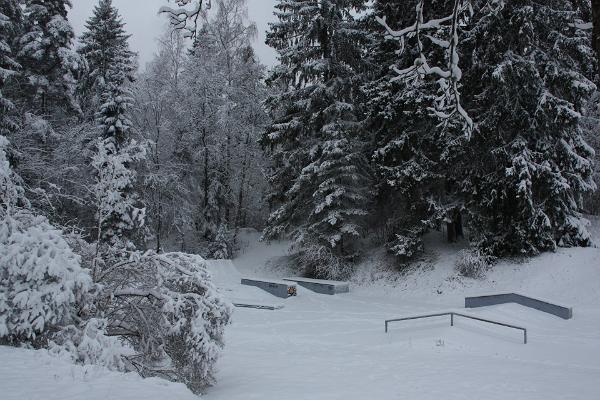 Otepää rulapark talvel