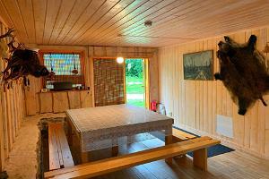 Предбанник в домике для отдыха Öökulli Kalamaja