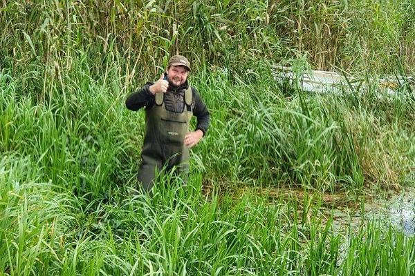 Zvejas vadu izlikšana Emajegi upē