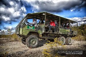 Ekstrēms safari Aidu bijušajās rūpniecības teritorijās
