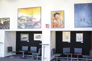 Teater Vanemuine (stora husets konferenscentrum) utställningar