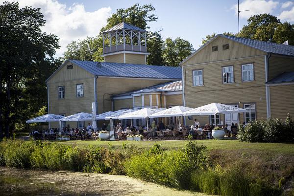 Ku-Kuu restaurant at Kuressaare Kuursaal