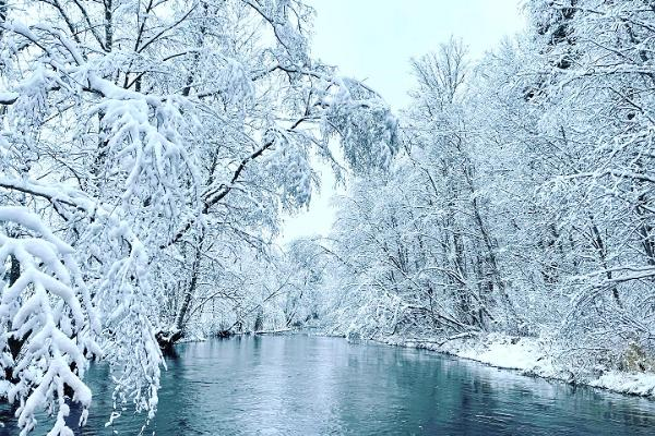 Talvine Võhandu jõe rafting