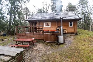 """Lomakeskus """"Valkla Randin"""" saunatalot"""
