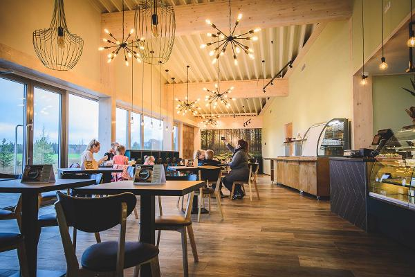 Cafe-buffet Saverna Buffik, dining hall