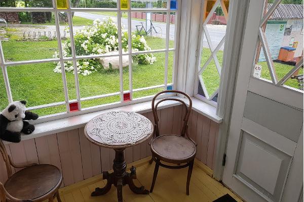 Jalgrattamuuseumi veranda