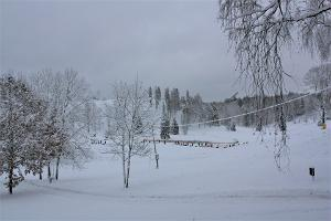 Otepään linnavuori talvella