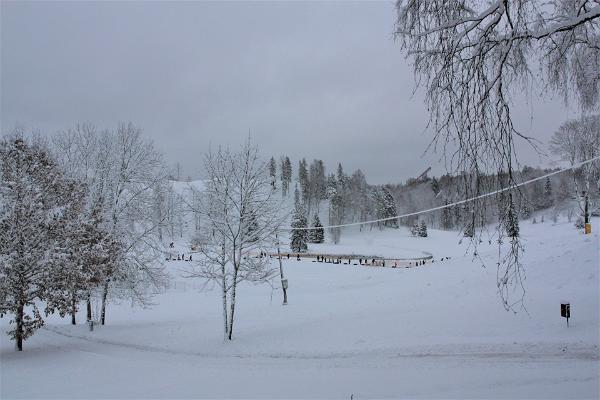 Otepääs fornborg på vintern