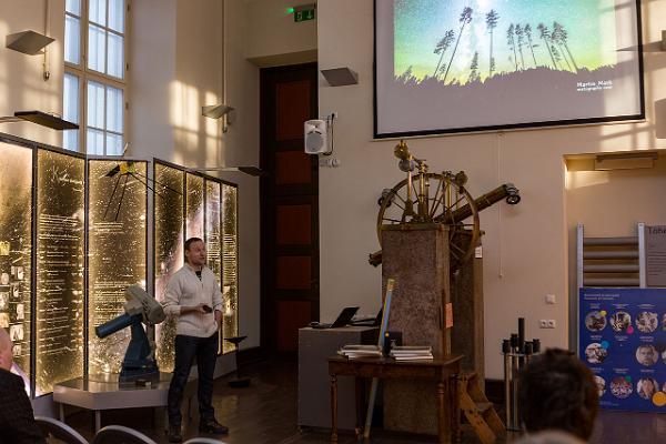 Dauerausstellung der Tartuer Sternwarte und ein Vortrag