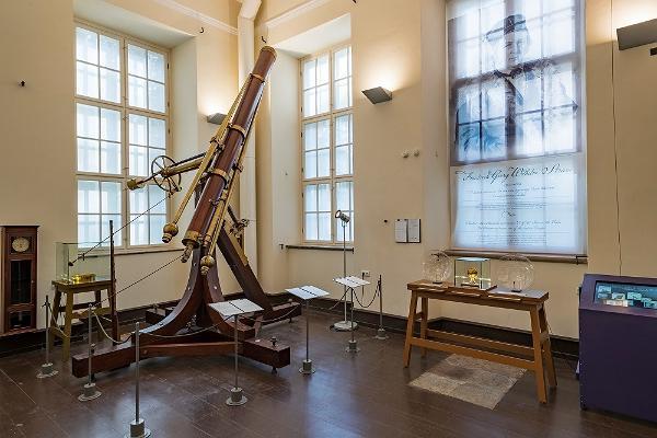 Zur Dauerausstellung der Tartuer Sternwarte gehörendes Teleskop