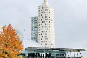 Tigutorn, der Schneckenturm