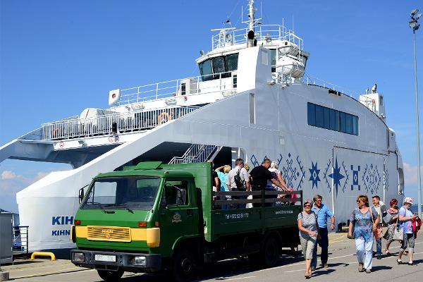 Kihnu salas ekskursija