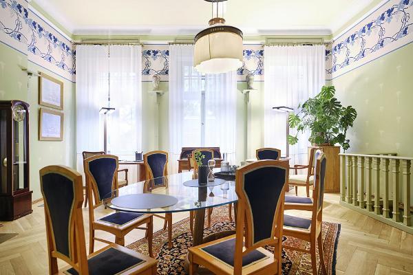 Restaurant der Villa Ammende