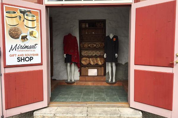 Handicraft shop Mirimart in Haapsalu