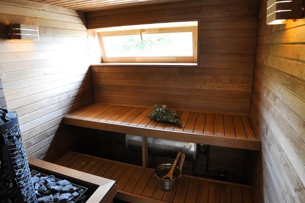 Ferienhäuser des Aussichtsturms Saxby