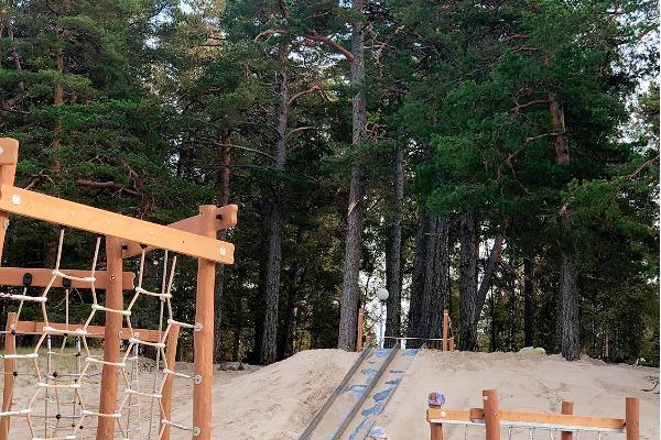 Võsu Beach, children's playground