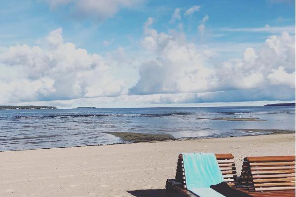 Võsu Beach, lounge chair